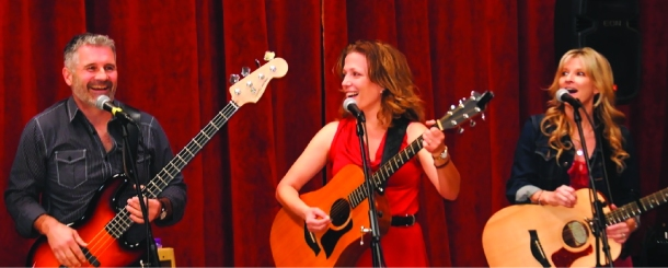 Sweet Potatoes, a band led by Laura Hall, the band leader on the LOL show Whose Line is it Anyway.